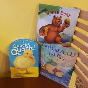3 baby books price is for all 3